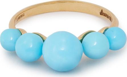 Irene Neuwirth Turquoise & 18kt gold ring