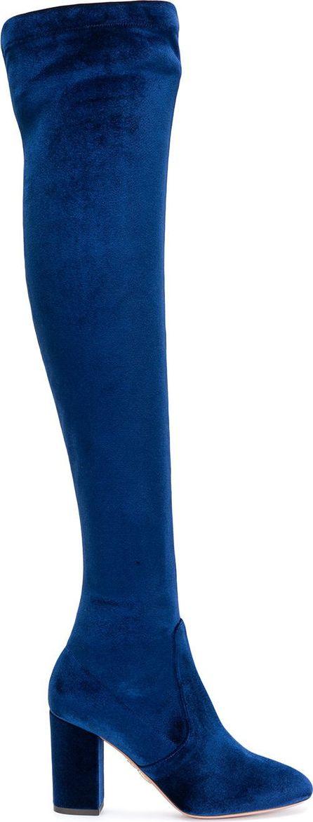 Aquazzura So Me 85 thigh high boots