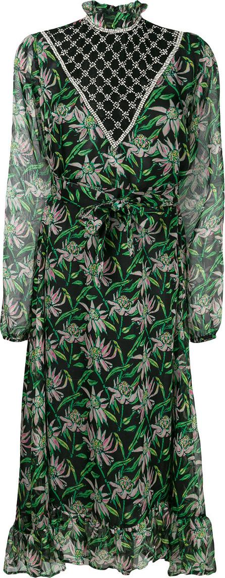 DODO BAR OR Jewel embellished floral dress