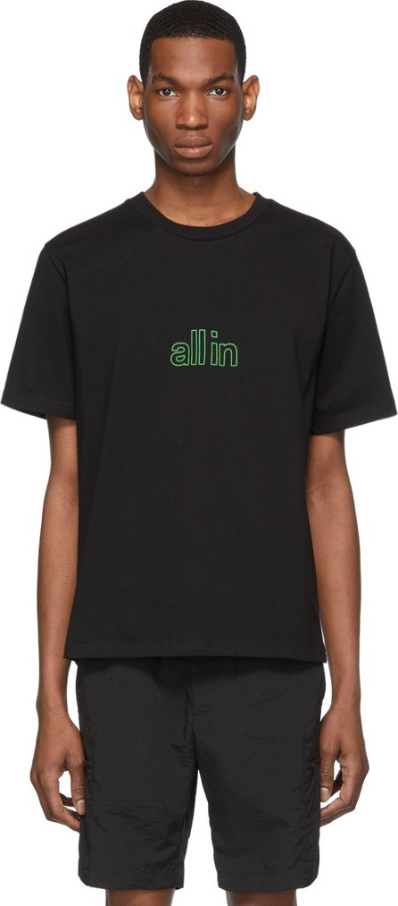 all in Black Spider Poison T-Shirt