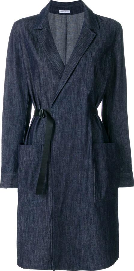 Tomas Maier Light denim coat dress