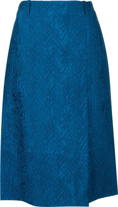 Marni Chevron jacquard A-line skirt