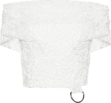 Maticevski Lace off-the-shoulder top