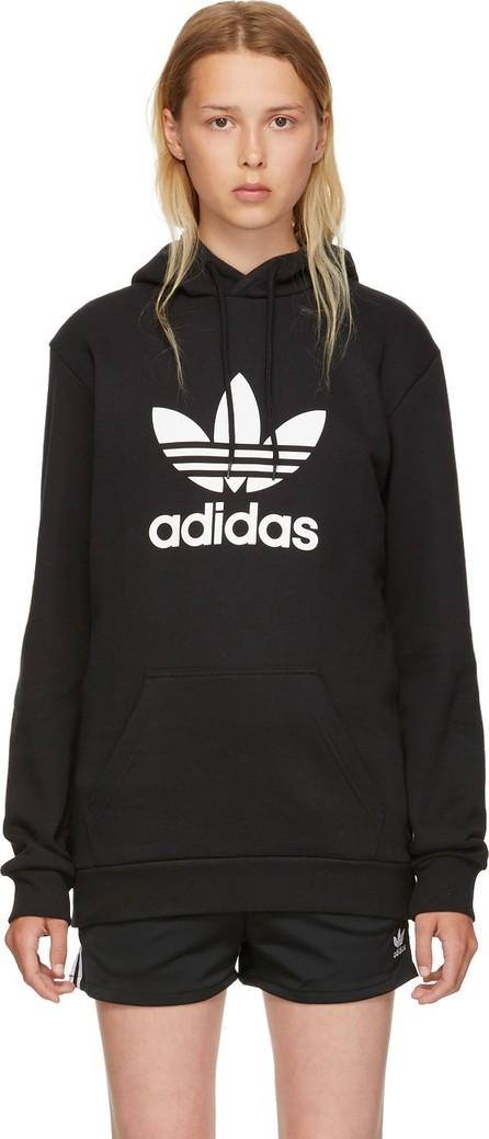 Adidas Originals Black Warm-Up Hoodie