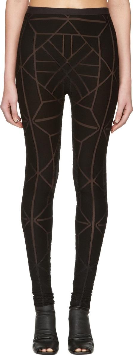 Gareth Pugh Black Tile Leggings