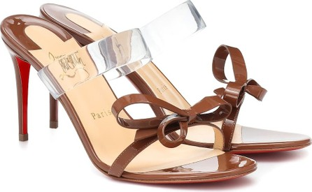Christian Louboutin Just Nodo 85 patent-leather sandals