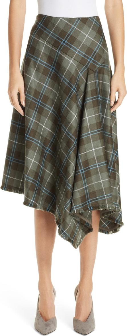 Lafayette 148 New York Rosabell Pastoral Tartan Skirt