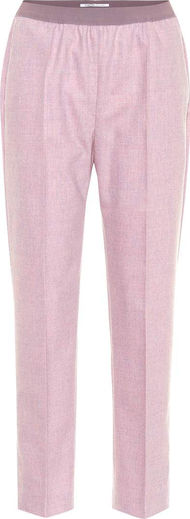 Agnona Wool and cashmere pants