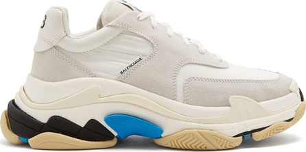 Balenciaga Triple S low-top suede trainers