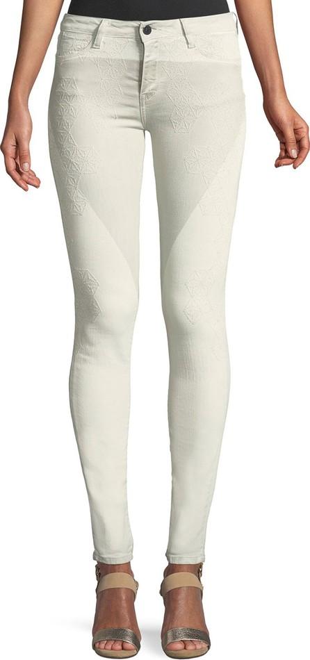 Brockenbow Aphrodite Mascara Emma Embroidered Skinny Jeans