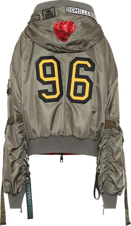 Dolce & Gabbana Bomber jacket with appliqué