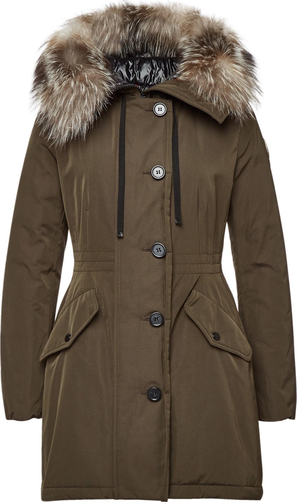 2de9db265 Moncler Monticole Down Parka with Fur-Trimmed Hood - Mkt