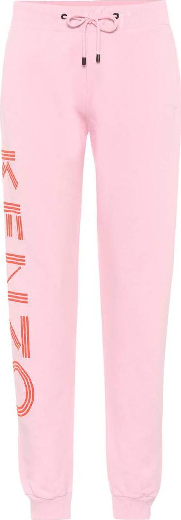 KENZO Printed cotton sweatpants
