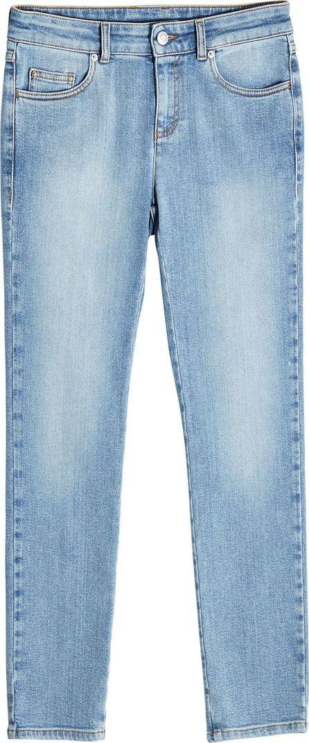 Alexander McQueen Cropped Slim Jeans