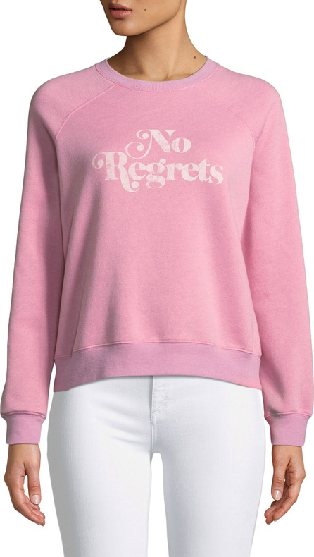 Rebecca Minkoff No Regrets Graphic Crewneck Sweatshirt