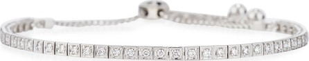 Cassidy Diamonds 18K White Gold Square Diamond Bracelet