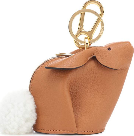 LOEWE Bunny leather pouch