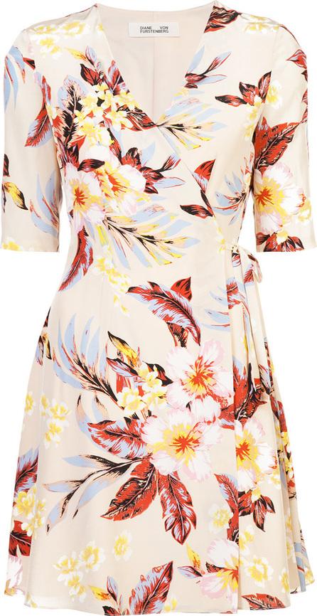 DIANE von FURSTENBERG Floral wrap dress