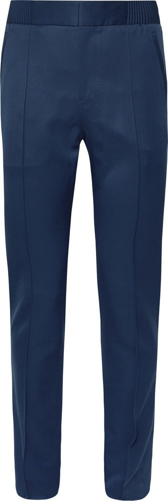 Berluti Blue Slim-Fit Wool-Twill Trousers