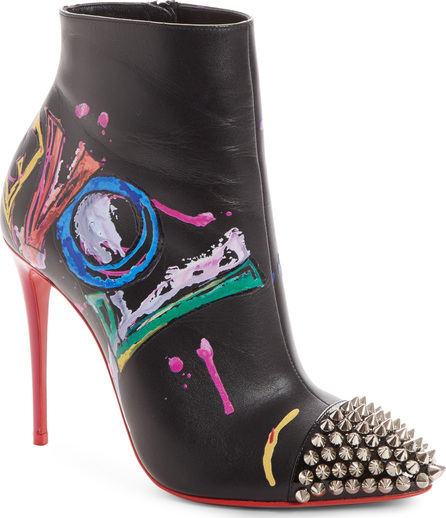 Christian Louboutin Love Is A Boot Spiked Bootie
