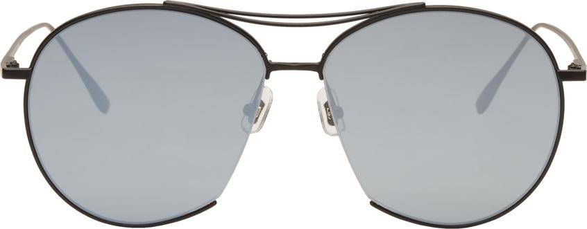 c70589fd08b Gentle Monster Black Jumping Jack Aviator Sunglasses - Mkt