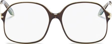 Victoria Beckham Acetate square optical glasses