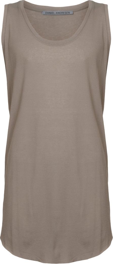 Daniel Andresen Sleevless elongated design T-shirt