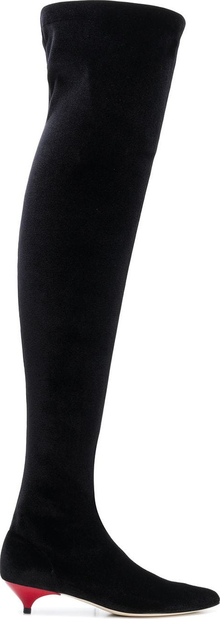 Gia Couture Over-the-knee sock boots