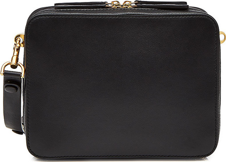 Anya Hindmarch The Stack Double Cross-Body Leather Shoulder Bag