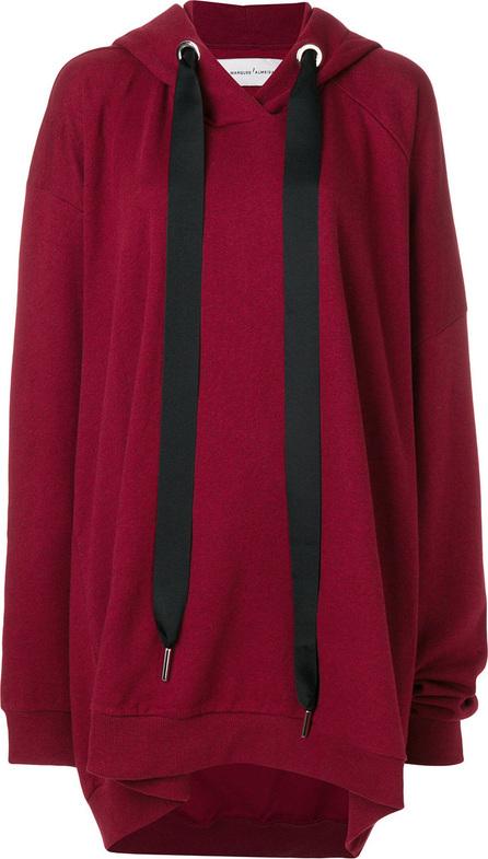 Marques'Almeida Oversized hoodie dress