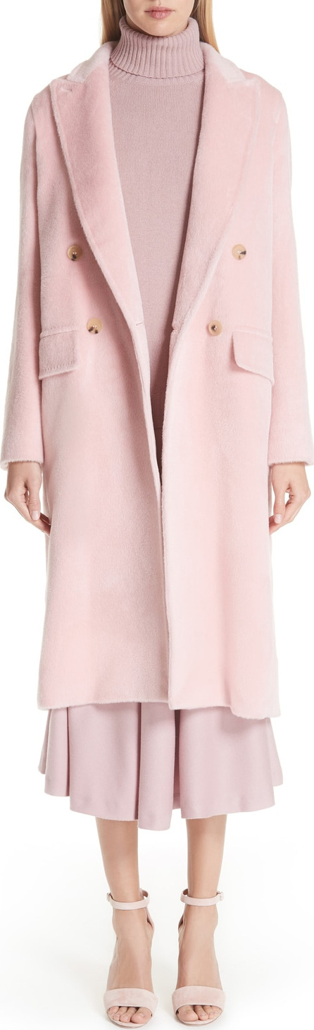 Max Mara Zarda Alpaca Double Breasted Coat