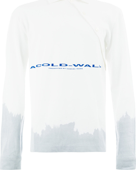 A-Cold-Wall* Front logo longsleeved polo shirt