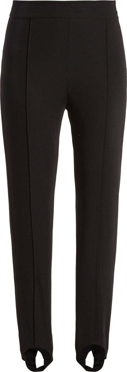 Acne Studios Tecia stirrup-hem twill trousers
