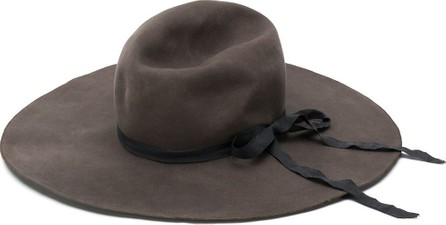 Horisaki Design & Handel Ribbon detail fedora hat