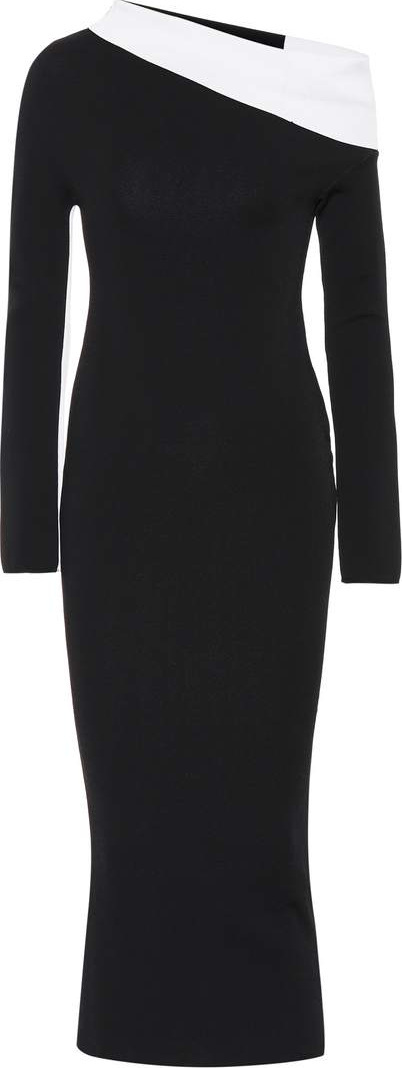Haider Ackermann Draped knit dress