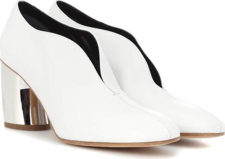 Proenza Schouler Leather curved heel pumps