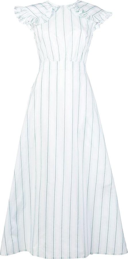 Calvin Klein 205W39NYC Striped pioneer dress