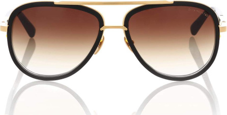 DITA Mach Two 18kt gold-plated acetate sunglasses