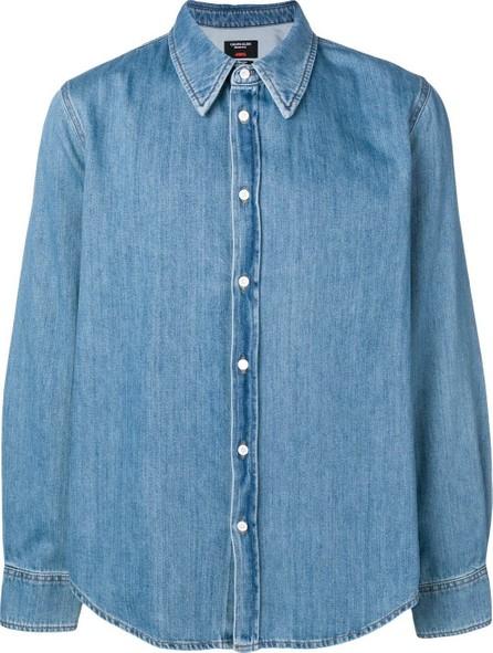 Calvin Klein 205W39NYC Jaws denim shirt