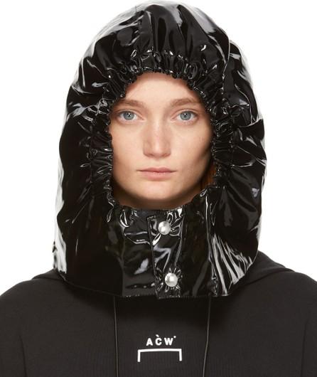 A-Cold-Wall* Black PVC Hood