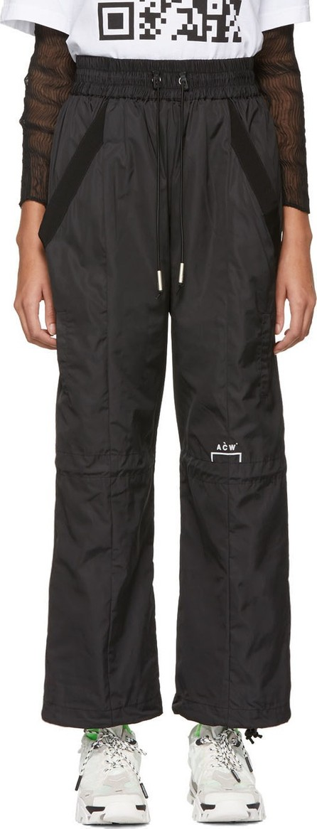 A-Cold-Wall* Black Technical Reduction Lounge Pants