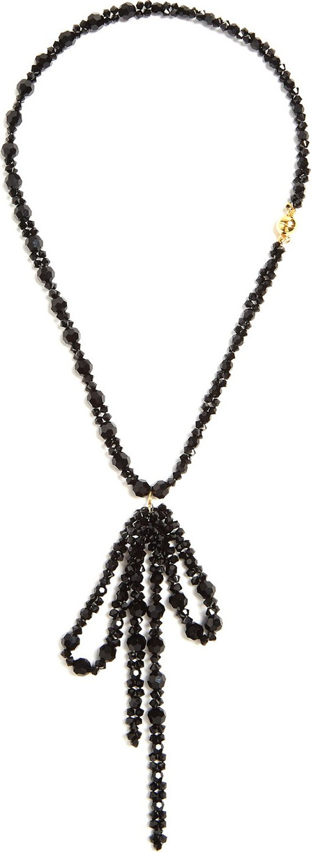 Simone Rocha Bow-pendant beaded necklace