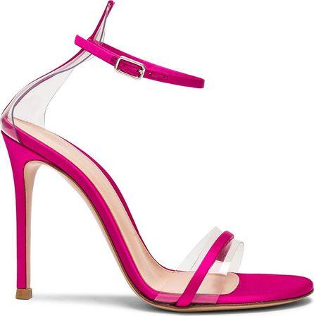 Gianvito Rossi Satin G String Heels