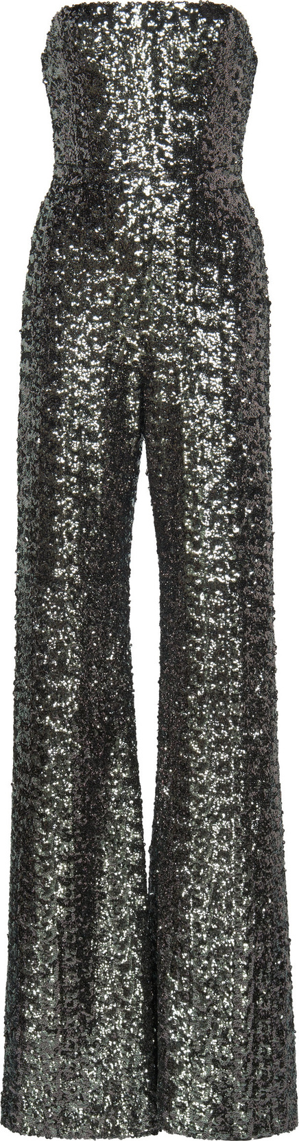 Alexis Carleen Sequined Strapless Jumpsuit
