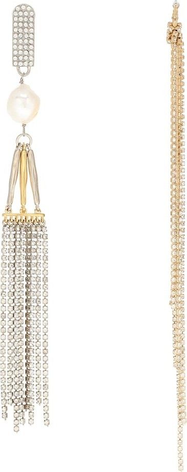 Givenchy Mismatched drop earrings