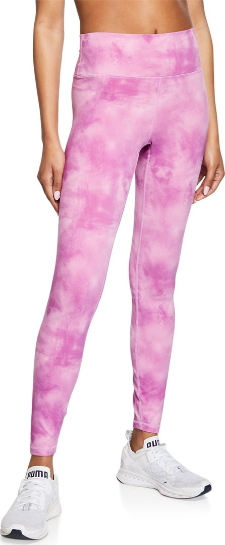 Spiritual Gangster Sunset Tie-Dye High-Waist Leggings