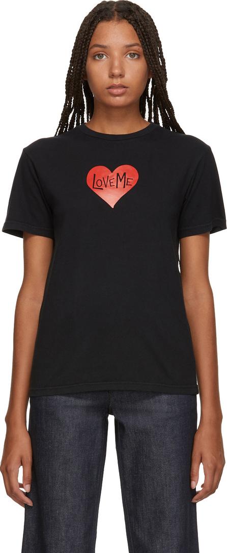 Alexachung Black 'Love Me' T-Shirt