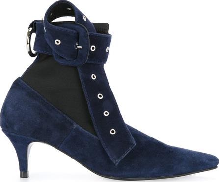 Nina Zarqua Buckle strap ankle boots