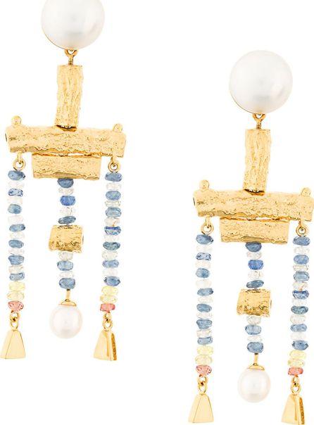 Lucy Folk Talking Heads earrings