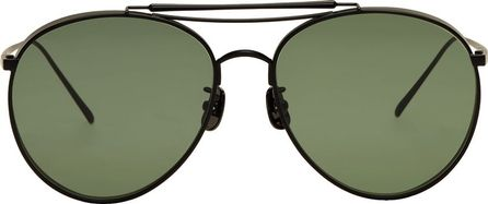 Gentle Monster Black & Green Big Bully Sunglasses